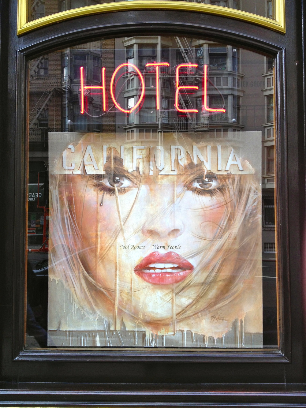 Hotel California, San Francisco. Artist In Residence Program, Spring 2013 Artist, Yarek Godfrey