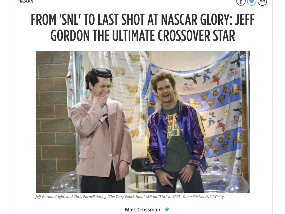 From 'SNL' to Last Shot at NASCAR Glory...imate Crossover Star | Bleacher Report.jpg