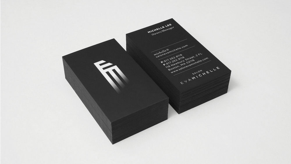 I helped launch a new salon by designing their identity, advertising and marketing collateral.