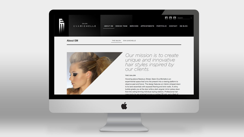 I learned Wordpress to build their site, and stuck with bold glossy high contrast elements to maintain a high-end feel.