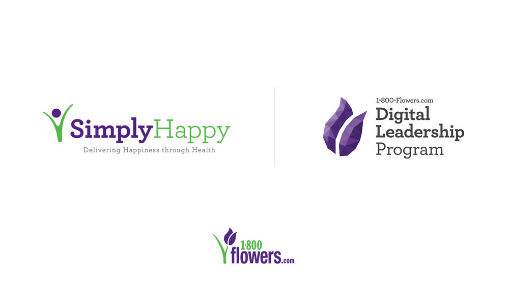 These logos were created for use within the enterprise, each pulling elements from the parent 1-800-Flowers logo to maintain brand voice.