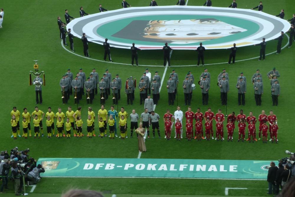 90elf Berlin, Olympiastadion, 12.05.2012 DFB-Pokalfinale: Borussia Dortmund - Bayern München (5:2)