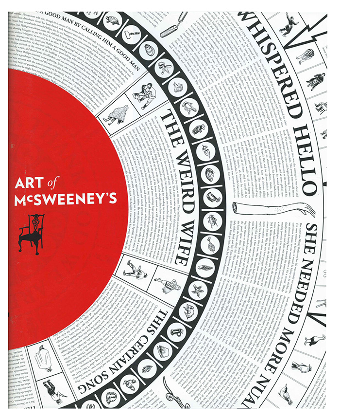 MCSWEENEY'S  Editorial design for literary magazine.