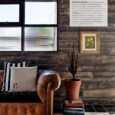 Ca Home + Design Editorial design for design magazine.