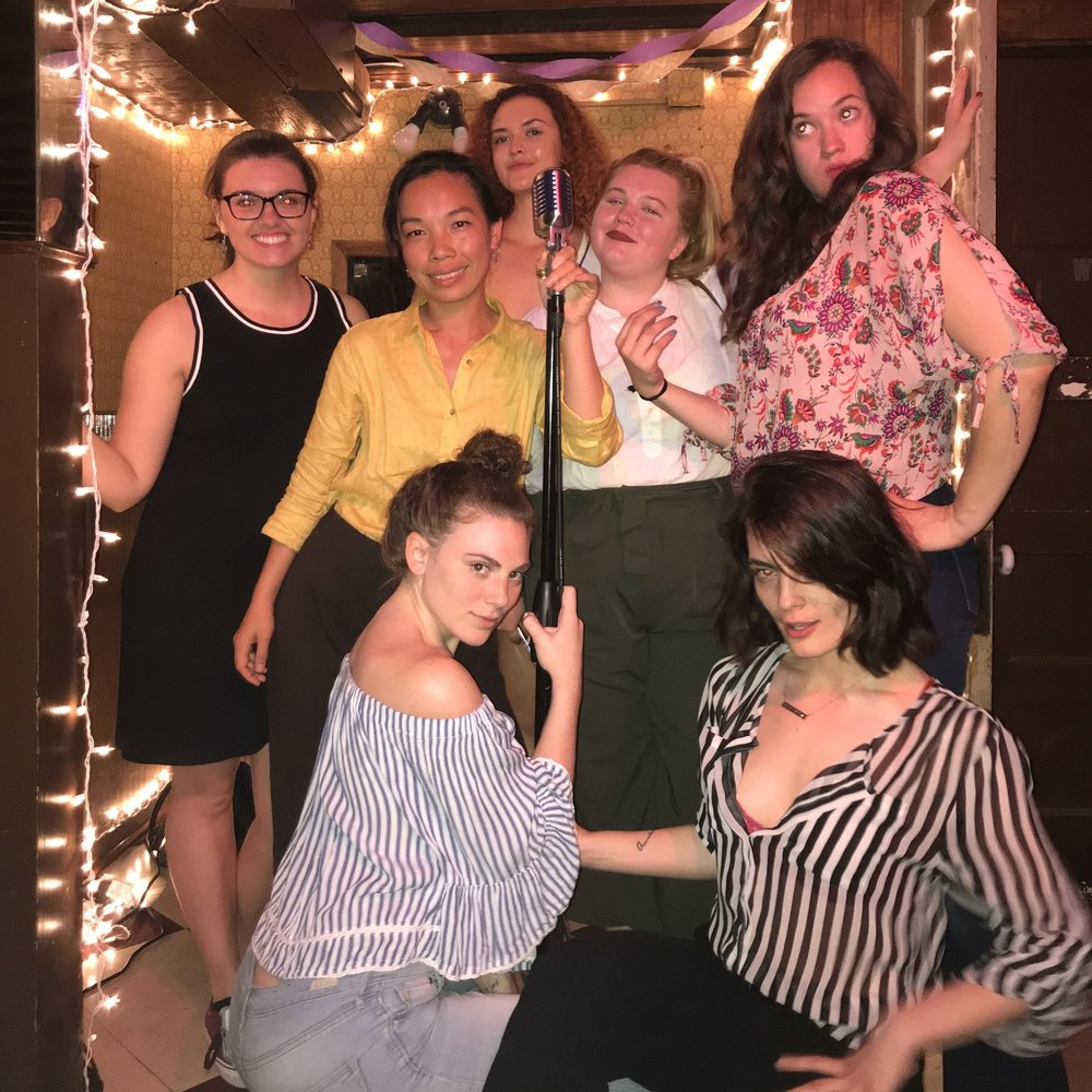 May, 2018! (from left to right): Kaitlyn Murphy, Hilary, Reina Rouzaud, Allie Willison, Amanda Figueiredo, Amanda Hudson, Nancy Pop)