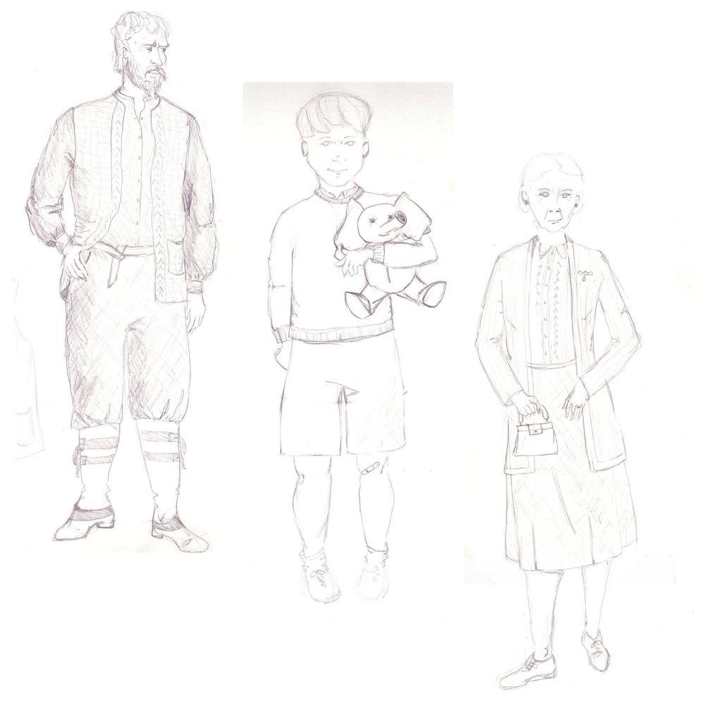 The Bridgeman, Michael, & Eglantine