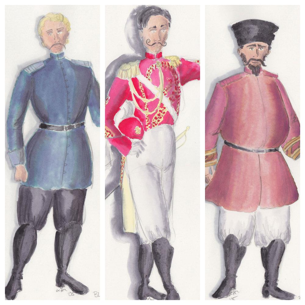 Bluntshil, Sergus, & Petkoff