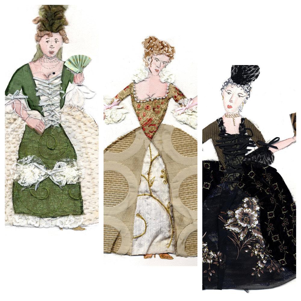 Lady Wishfort, Millimant, & Mrs. Fainall