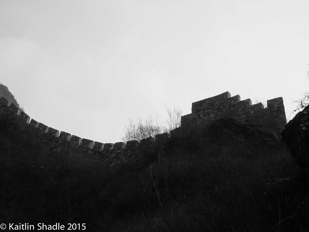 Great Wall Silhouette