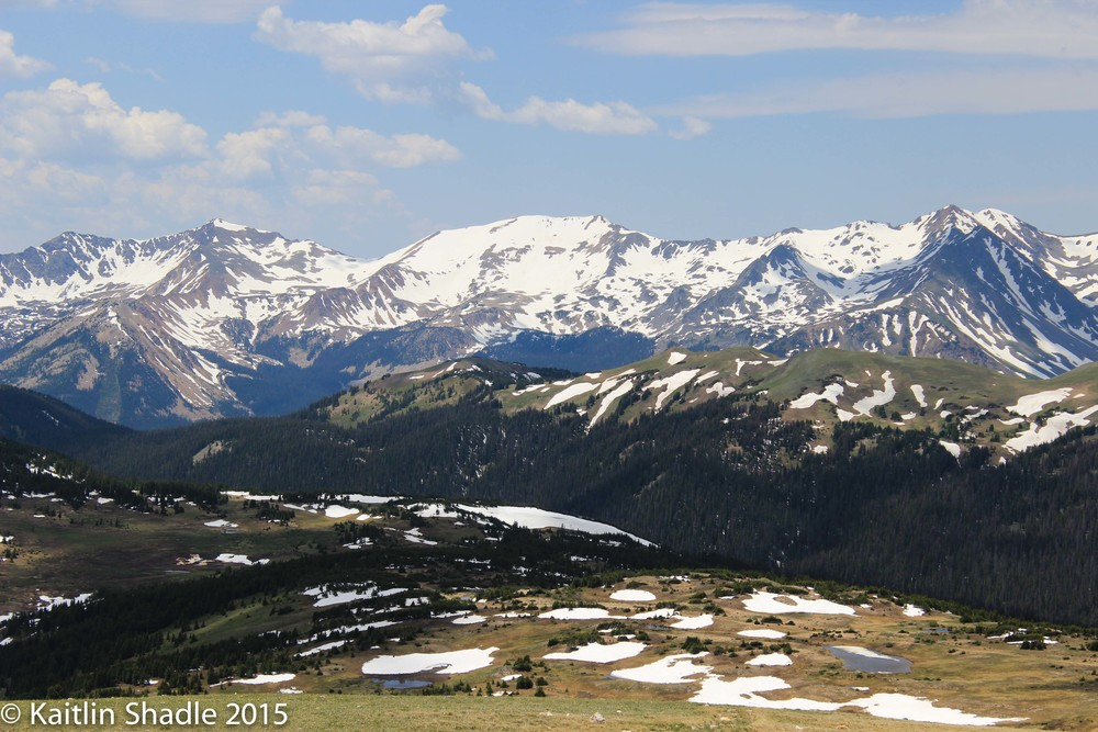 Continental Divide from Gore Range RMNP