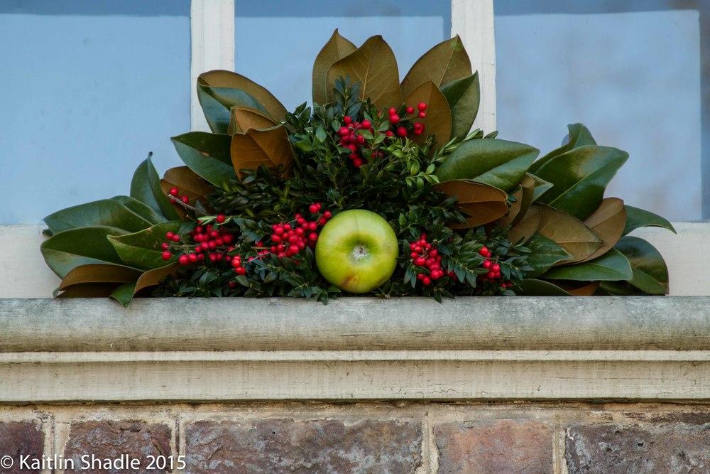 Apple Window Decoration