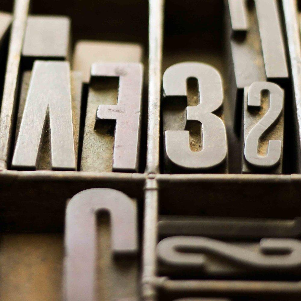 Block Letters FV