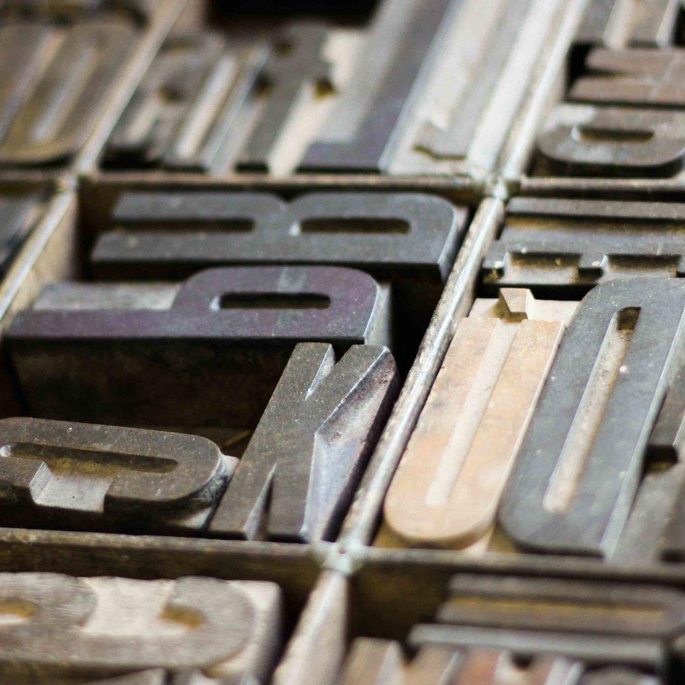 Block Letters K