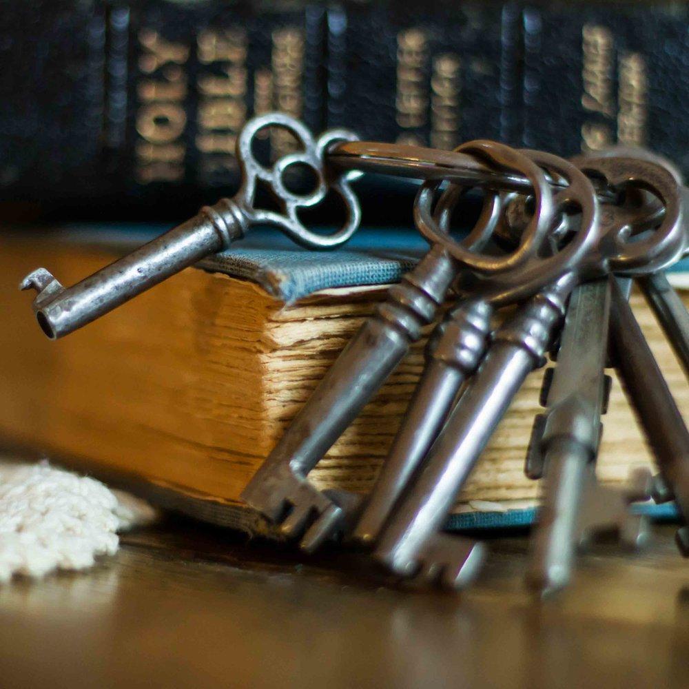 Bible and Keys
