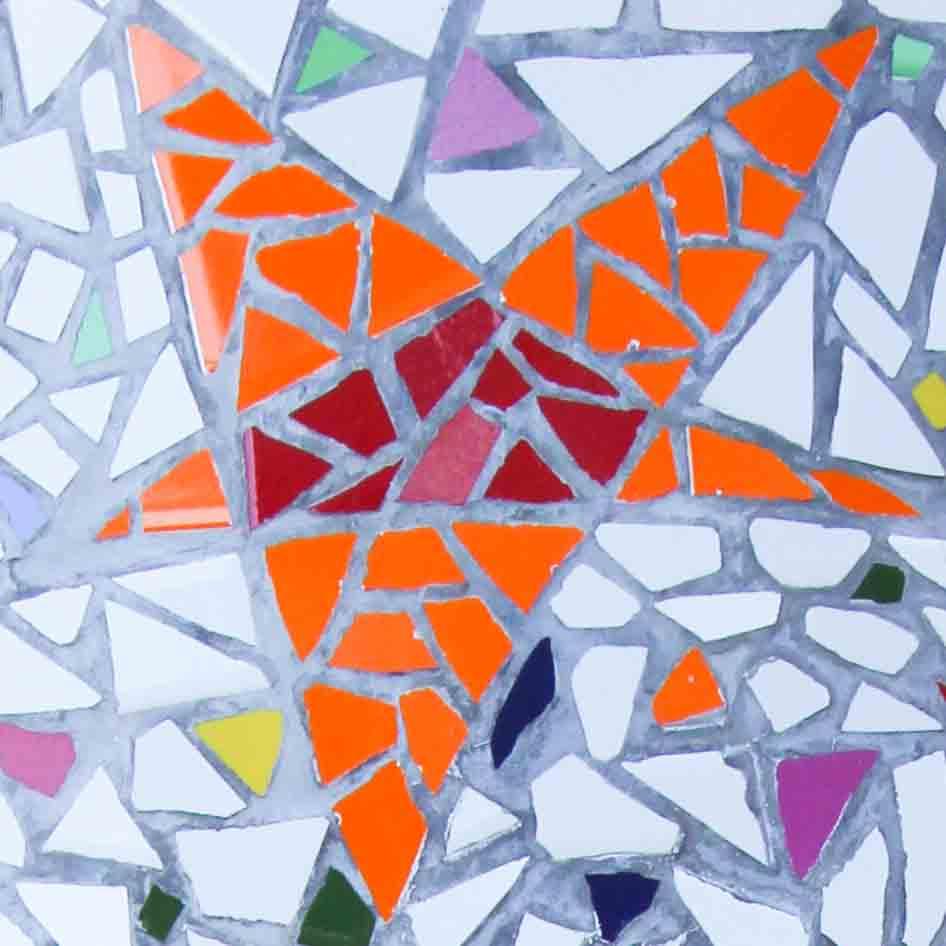 Orange Star Mosaic