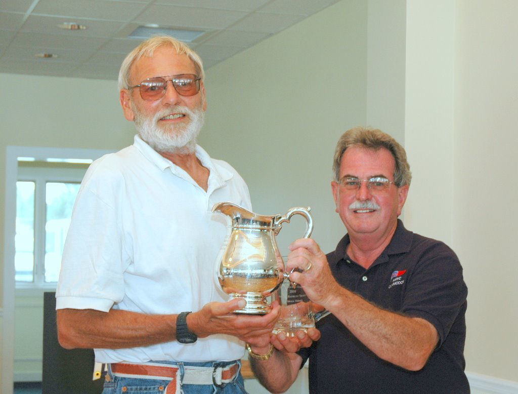 Island Lark Receives John E. Baybutt trophy for the weekend