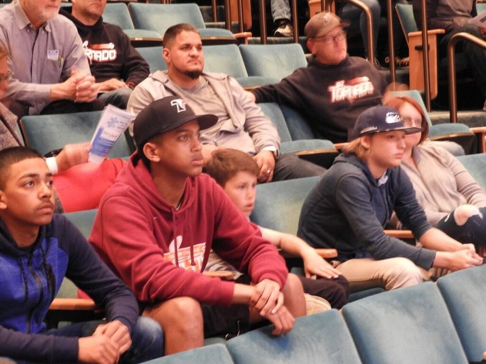 Ware center audience