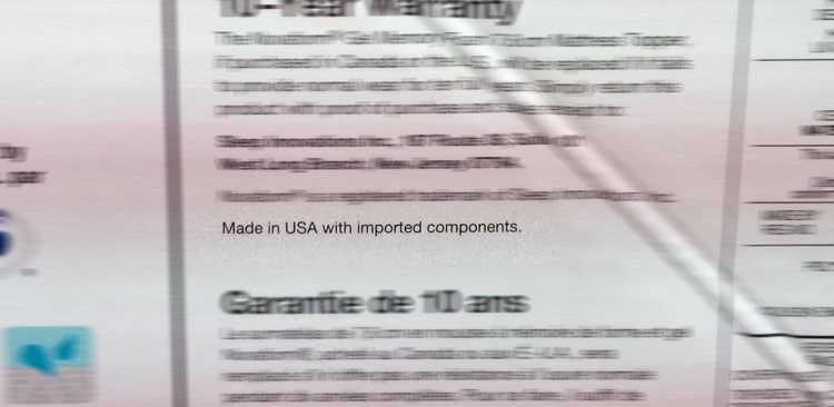 Made in the USA?