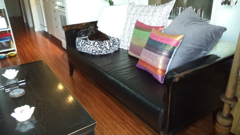New Sue's sofa