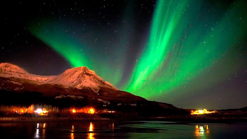 6) See the northern lights in Scandinavia.