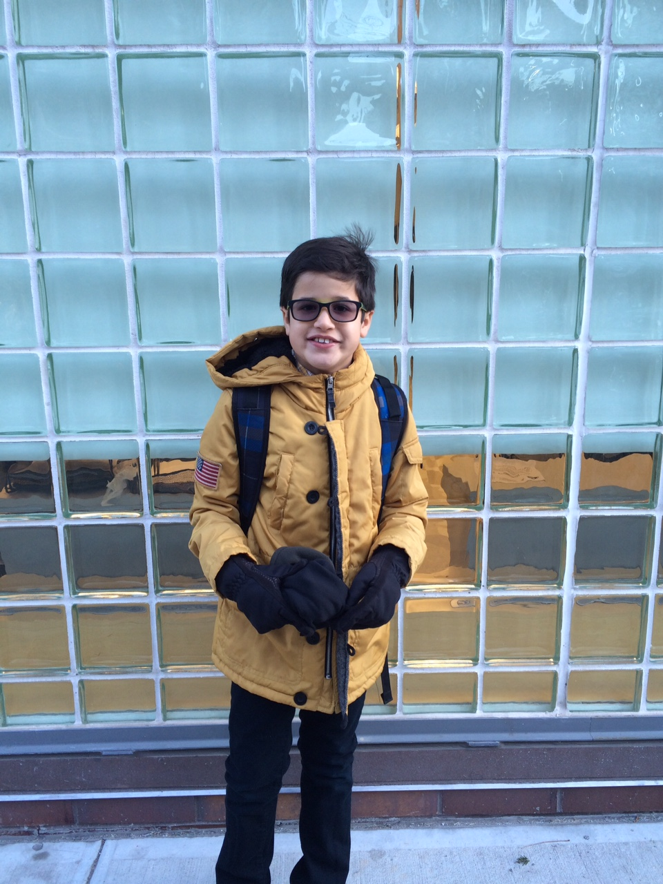 ENzo has found a new School FamiLY At PS 51 in ManHattan.