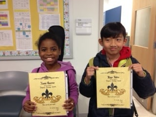 Essay contest winners for hispanic history month!