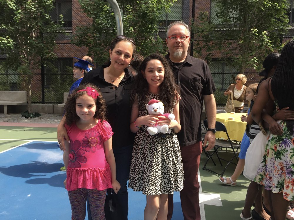 Ana Camacho is the co-Secretary of the pta. Her daughter Camila is in 4th grade and her daughter Emilia graduated from ps51 in 2015