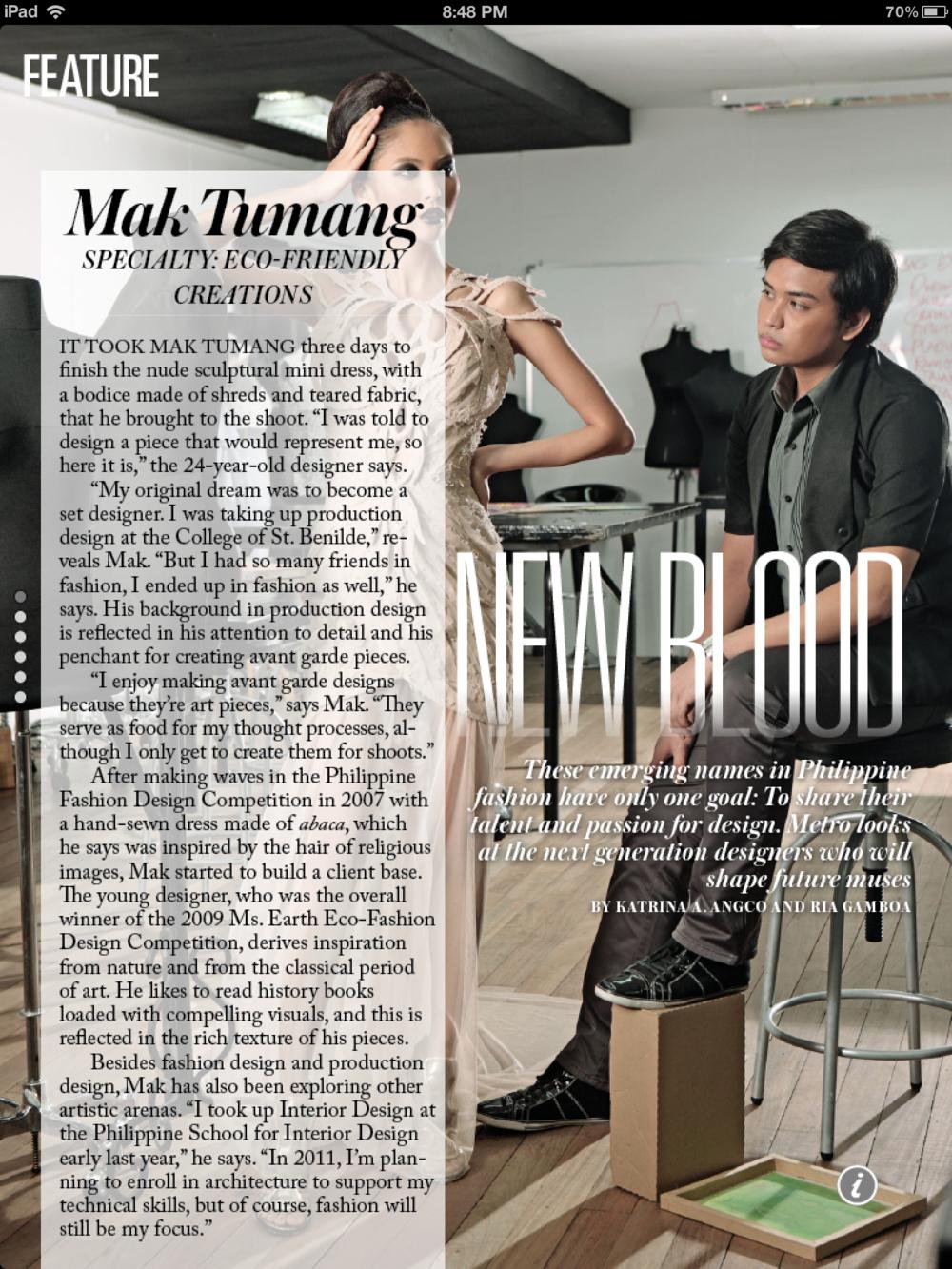 METRO Magazine | February 2011