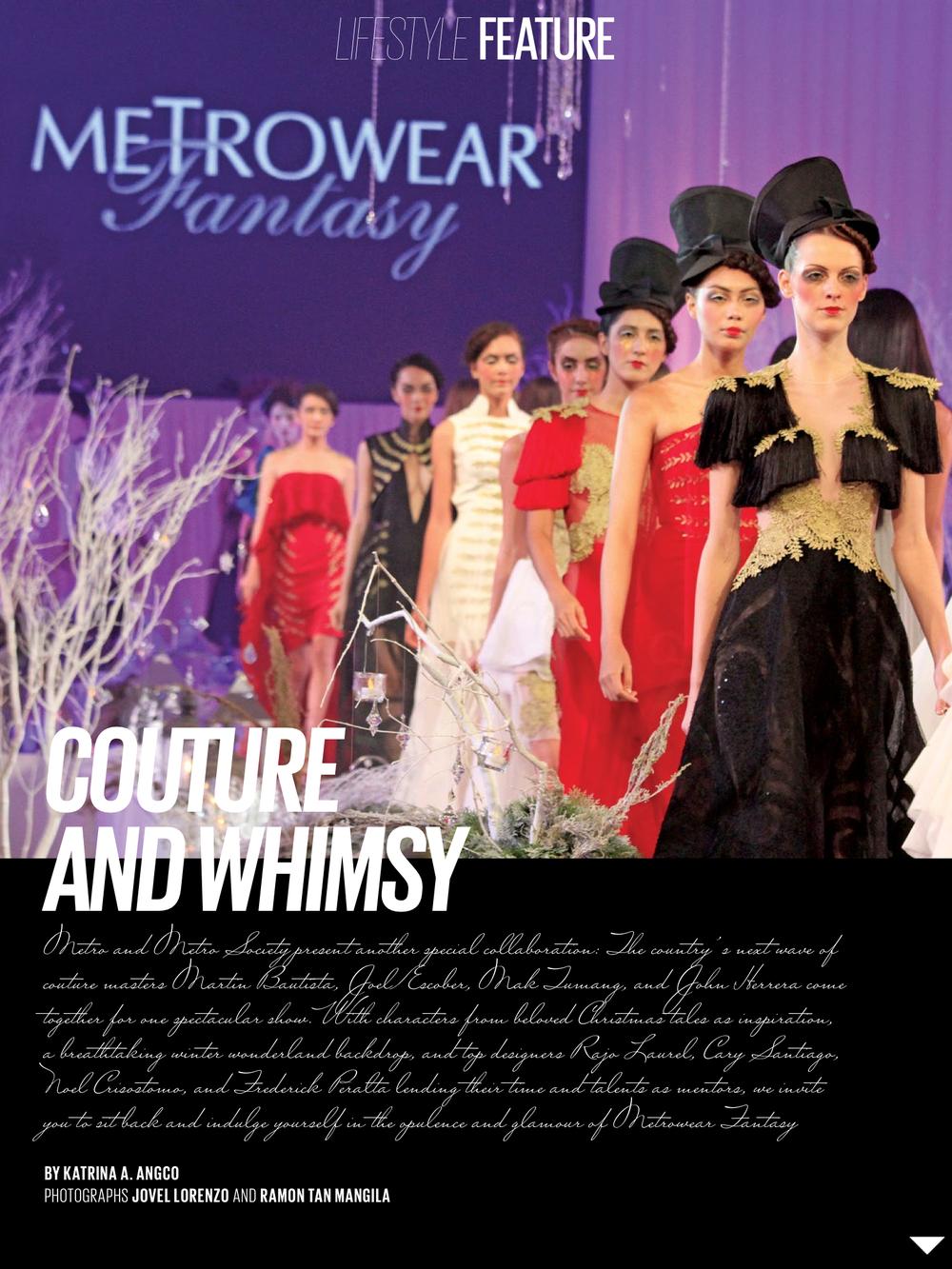 METRO Magazine | January 2013
