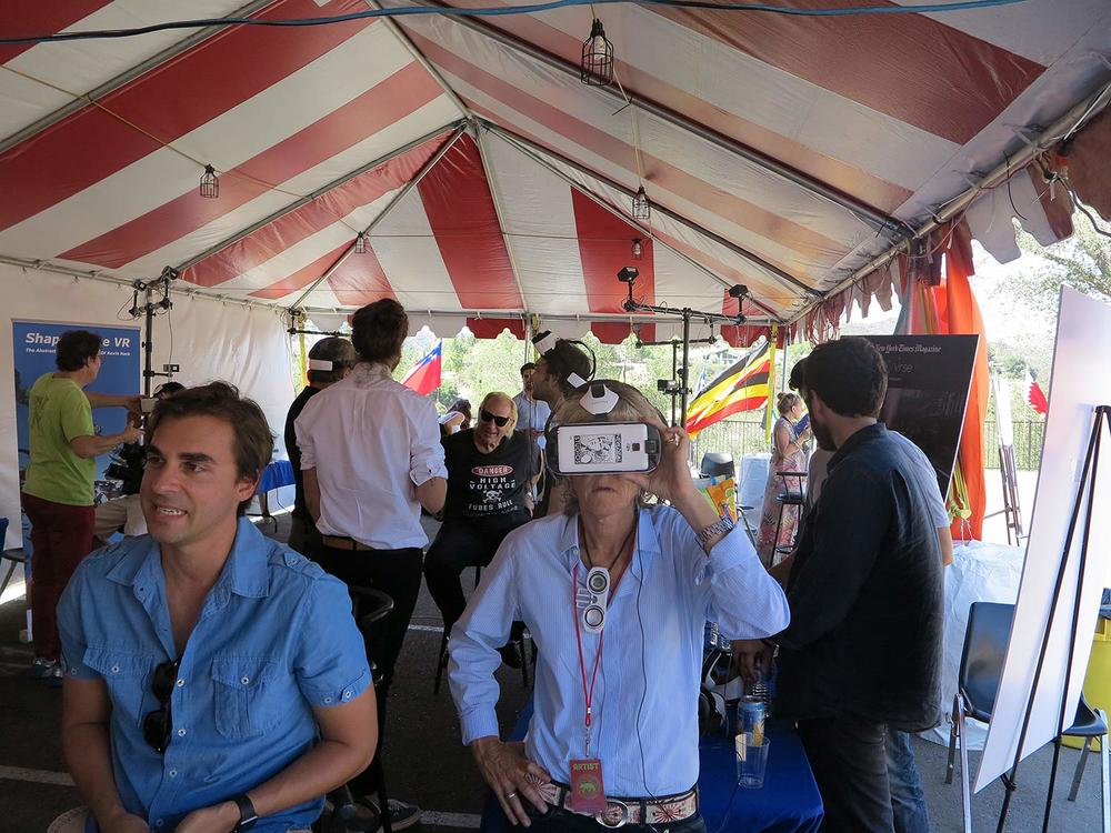 Topanga Film Institute VR at the 2015 Topanga Film Festival