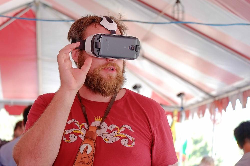 Topanga Film Institute VR at the 2015 Topanga Film Festival
