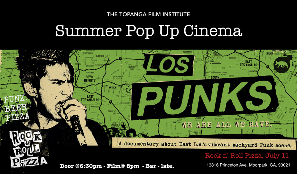 A FREE SUMMER POP UP FILM SCREENING HOSTED BY    Redballs Rock & Roll Pizza, 13816 Princeton Ave, Moorpark, CA, 93021 +1.805-530-7135,