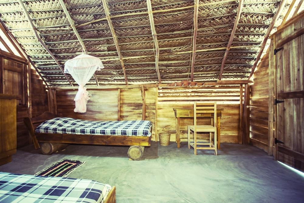 Standard shared wooden cabana