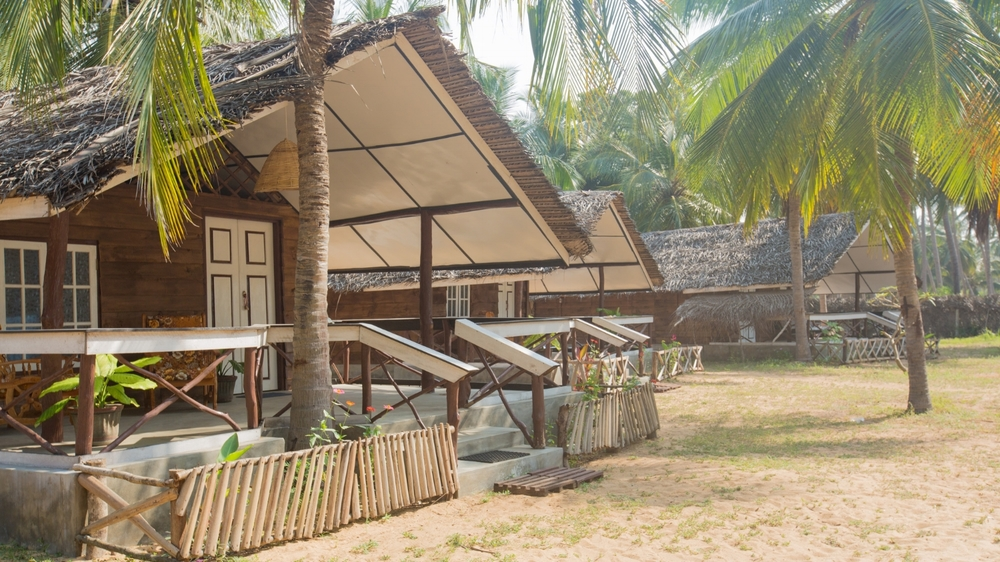 Eco based wooden cabanas