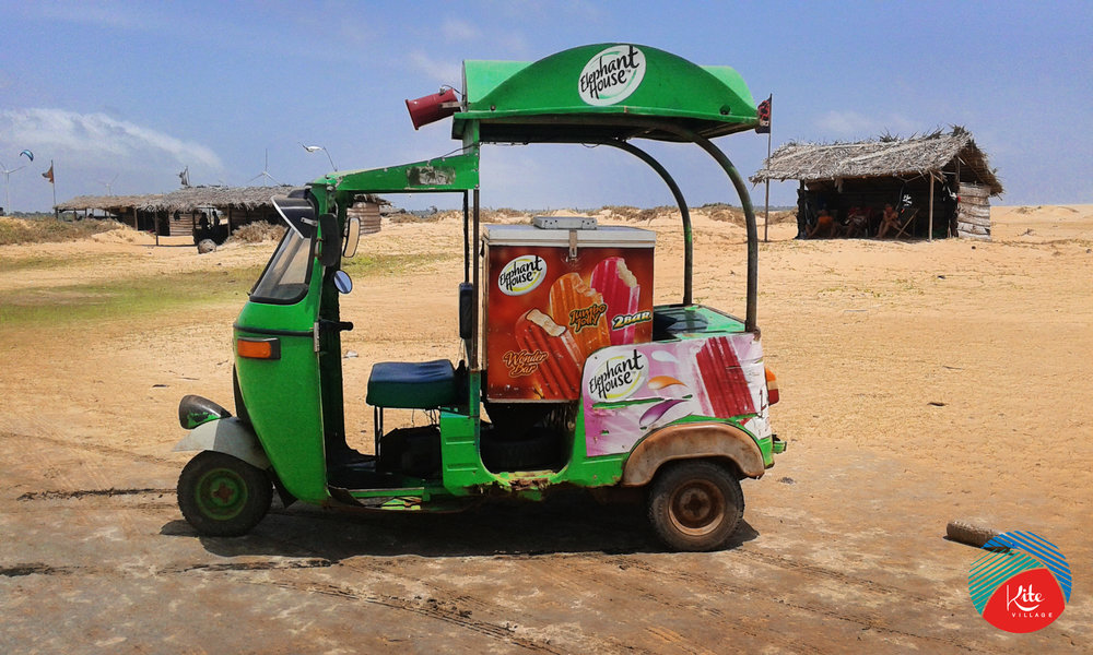 Enjoy a Sri Lankan Ice cream during your kiting sessions