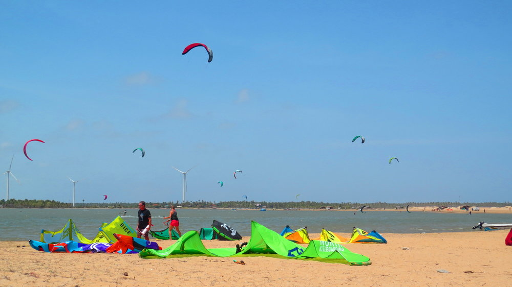 Best kite spot in Asia, guaranteed learn progress..