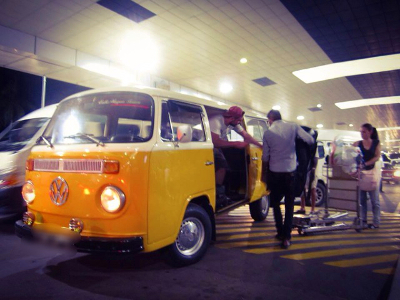 The only Volkswagen surf bus airport pikcup in Sri Lanka