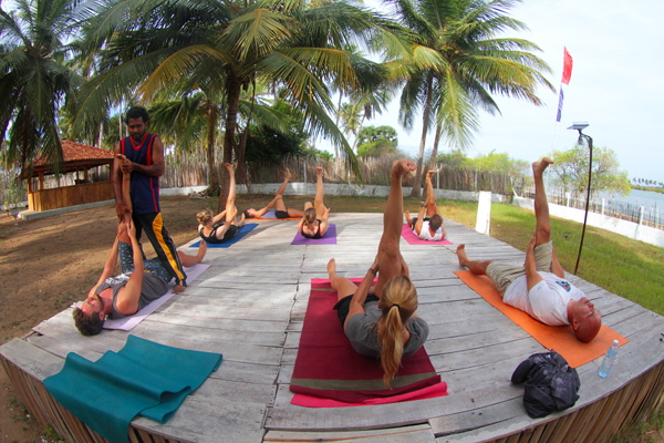 Practice Yoga with our local Yogi - Bandara