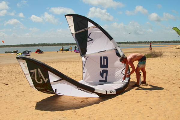 Only kite-school to offer CORE Kites XR and GTS for rental. Offers also Crazyfly Sculp  - available sizes from 5m to 15m.