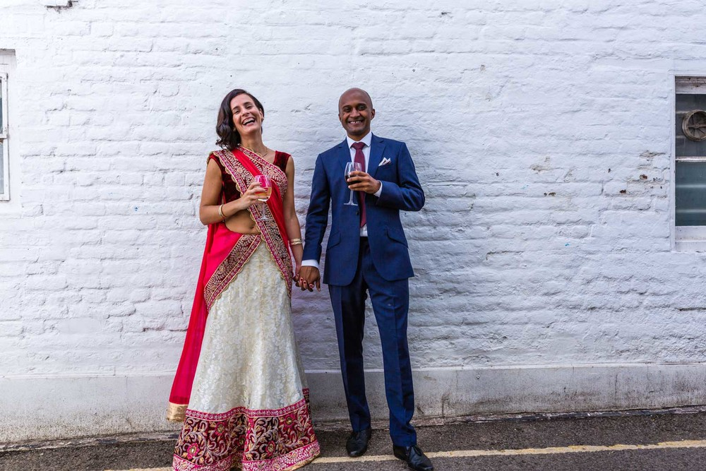 Twickenham wedding, at the pub