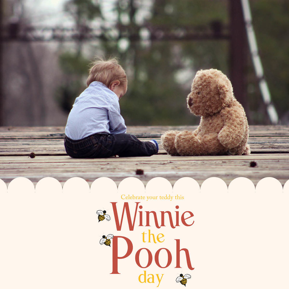 Pooh Bear photographs