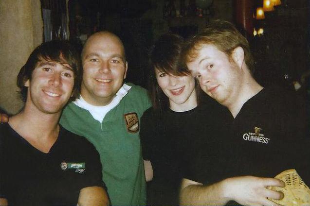 Eoin, Bart, Leonie & Hughie