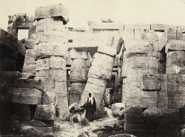 Francis Frith In Egypt, 1860 albumen print