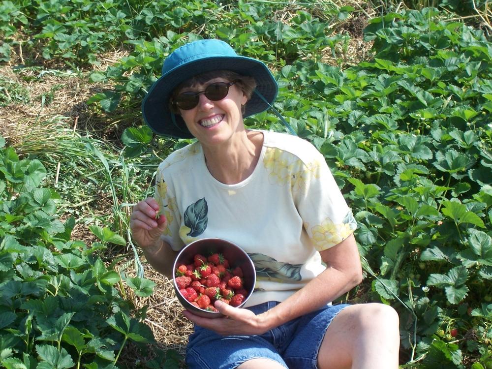 Mmmm, strawberries.
