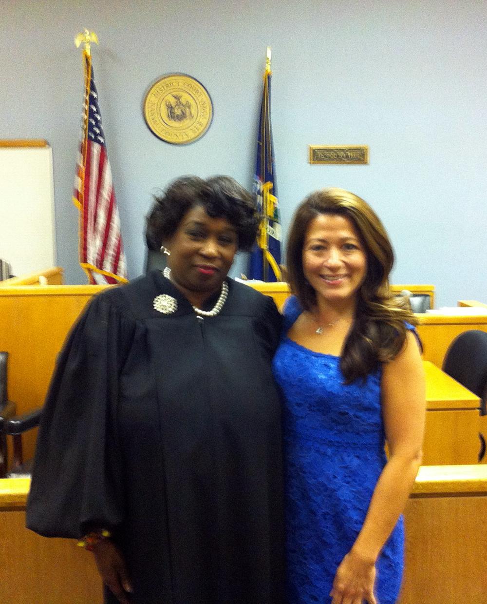 Hon. Andrea Phoenix and Linda K. Mejias, Esq.
