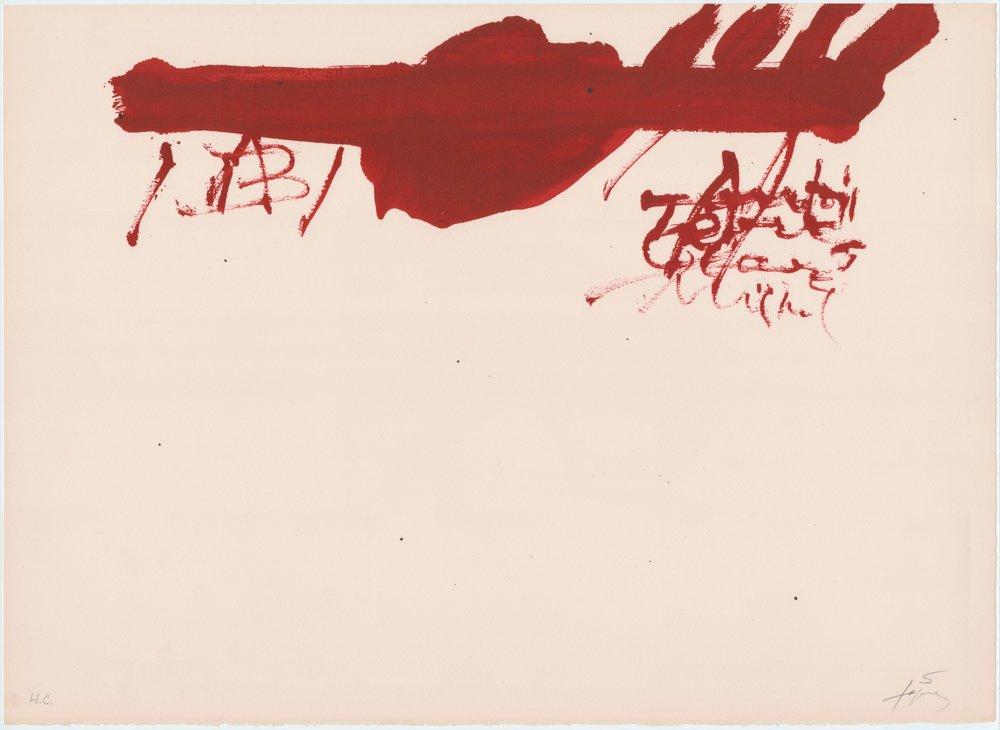 Clau del Foc XIII, HC Guarro CR Galfetti 364 (1973)