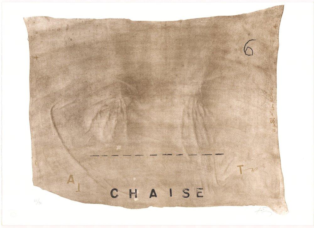 Variations VII- Chaise Normalauflage (Galfetti 1000)