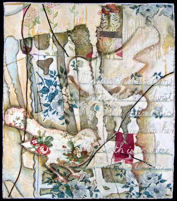 """A Month of Sundays,"" 2005. 38""h x 35""w, collection of Arrowmont School of Arts & Crafts."