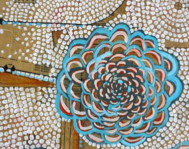 """Detail, """"Chrysanthemums."""""""