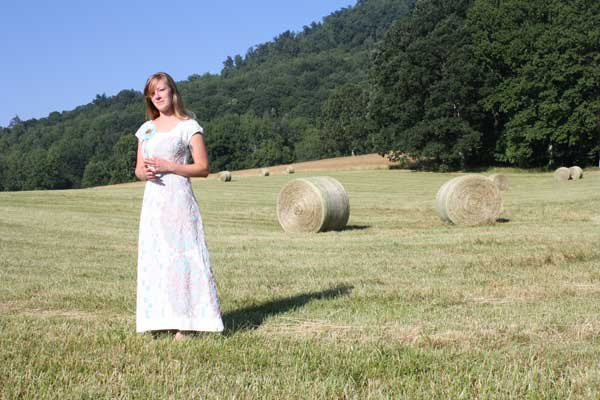 "One of a kind ""Belle"" Dress, North Carolina."